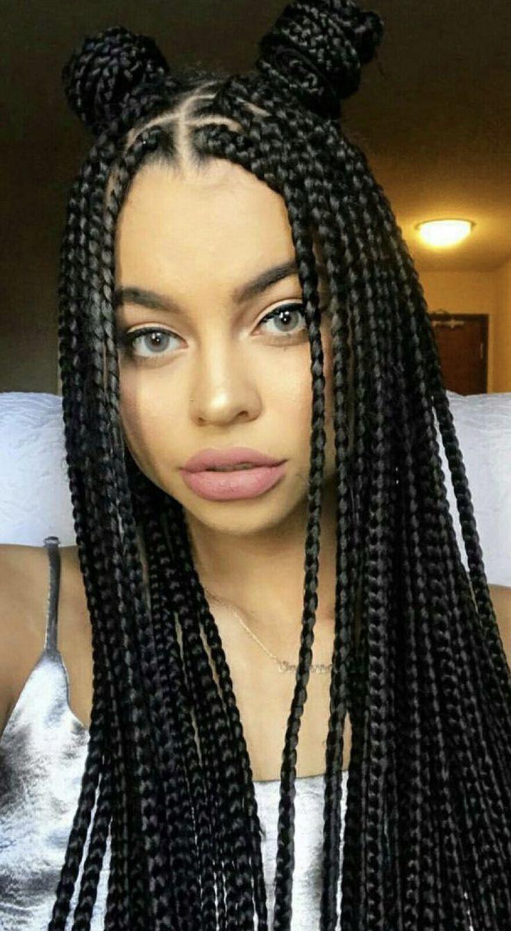 Pin De Juliette Em Hair Em 2019 Penteados Tran 231 As Negras