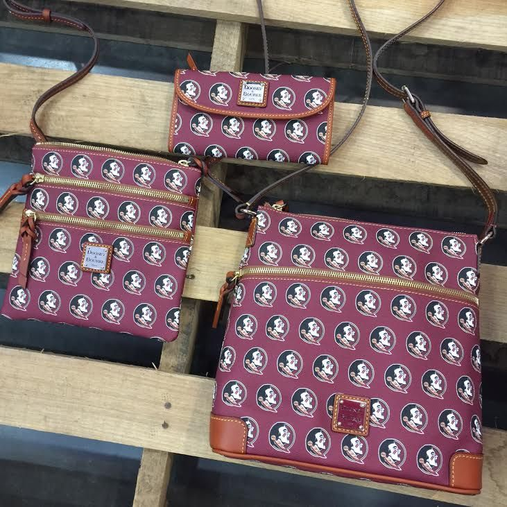 FSU Dooney & Bourke purses to carry to cheer on the Seminoles!
