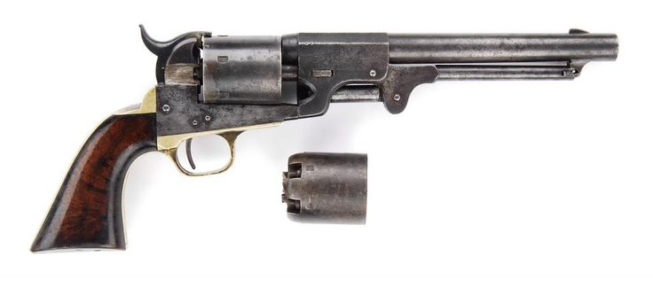 Dance Revolver | Very Rare Dance & Brothers Confederate revolver from the renowned Fred ...