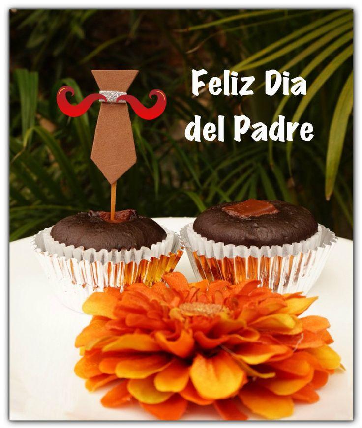 #cupcakes #chocolate #diadelpadre