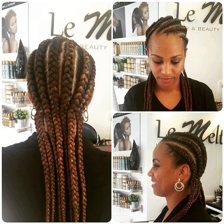 Et une cliente de plus satisfaite!! #braids #nattescollées #afro #mèches #xpression #afrohair #lemelt #lemeltbeauty #villemomble