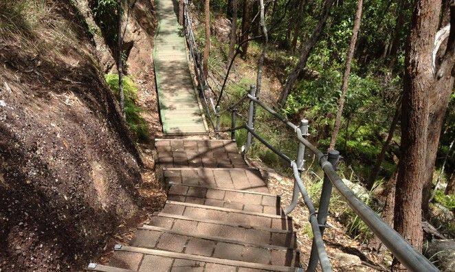 Springwood 'Death by Stairs' and other walks