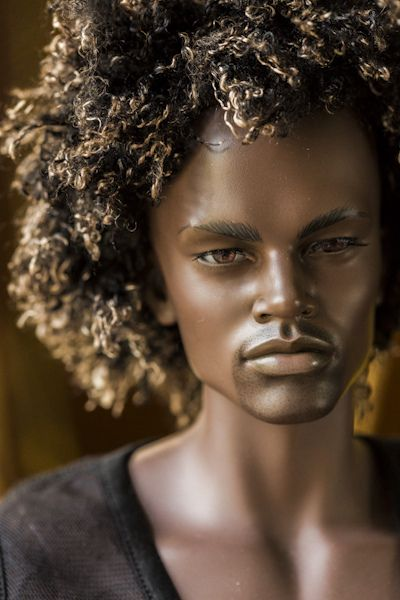 Woooooow. Now I wish I had this doll growing up. All my black male dolls were dull compared to this!