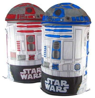 R2-D2 Laundry Baskets