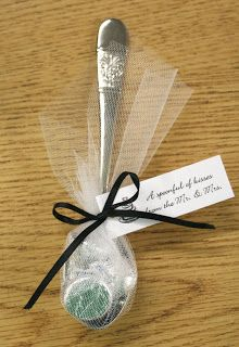 Favors With Love: A Spoonful of Kisses DIY Favor Instructions- Instead of a spoonful of kisses..it is that spoonful of sugar that helps the medicine go down :) Would be perfect for disney themed wedding