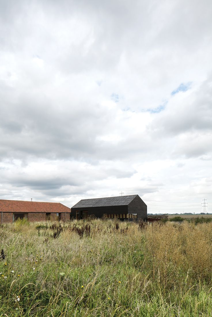 Subverting the traditional, conservatively cozy British barn conversion, Carl Turner created a getaway in rural Norfolk for himself and his friends to visit, repose, and consider the beauty of agrarian minimalism.