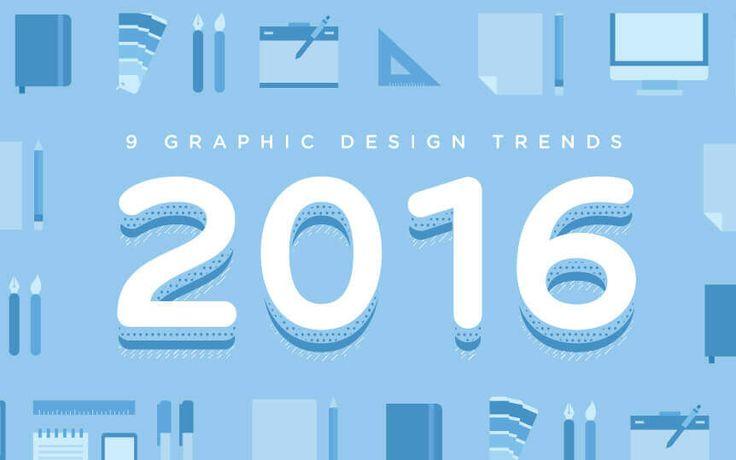 グラッフィクデザイナーが確認しておきたい、2016年のトレンドを実例と一緒にまとめています。