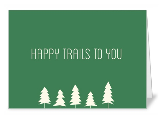 Happy Trails To You! Get this unique greeting card with 4 other cards to celebrate Hiking Day on June 1st by visiting https://deals.shopsocially.com/flashsales/invitationbox?cmp_id=51895517c306797d6c00002f_ref=invitationbox_email_unlock=true #greetingcards #snailmail #hiking #hikingday #june1