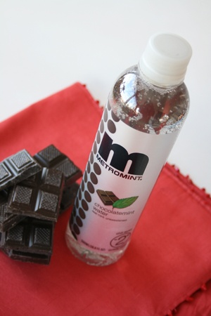 Chocolate mint flavored water... Love it!