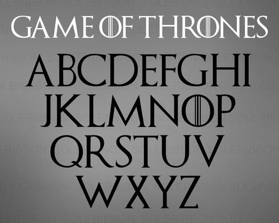 Game Of Thrones Font Svg Got Font Game Of Thrones Svg Game Etsy Game Of Thrones Game Of Thrones Birthday Game Of Thrones Drawings