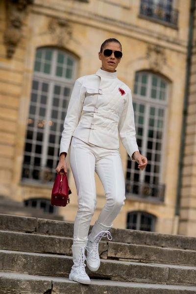 Paris Haute Couture 2017 Sokak Stilleri: 1. Gün