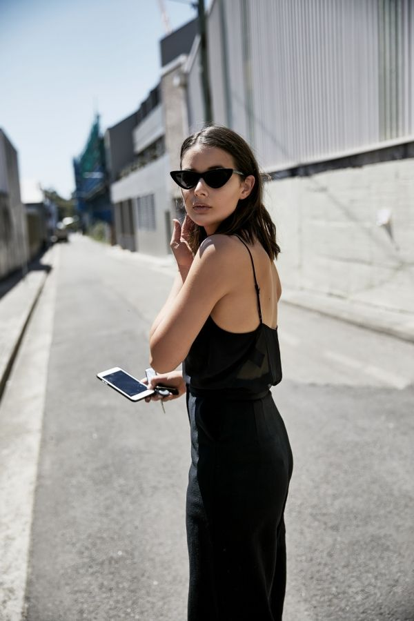 Harper and Harley | Black Pants | Charlie May | Le Specs Sunglasses | Style | Outfit