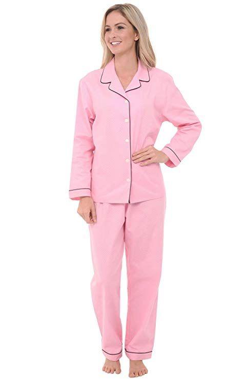 26afa22ee0d9 Alexander Del Rossa Womens Cotton Pajamas