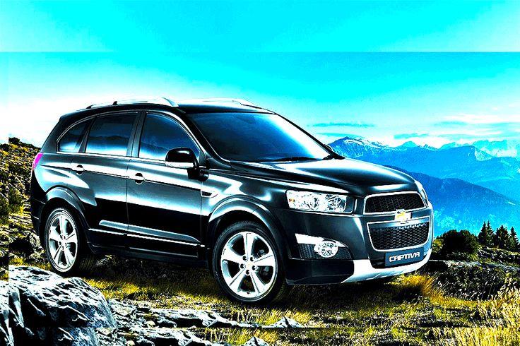 Chevrolet Captiva - VIP - black - full extra - Simotas car rental Kefalonia - automatic