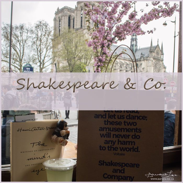 Visiting Shakespeare and Company was first on my list of things to do on my recent trip to Europe. A wonderful spot!
