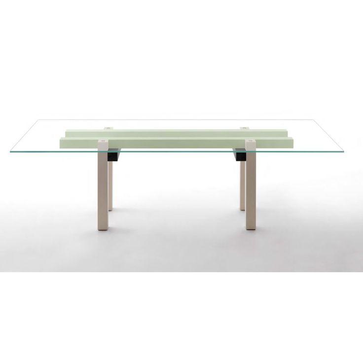 oltre 25 fantastiche idee su tavolo di cristallo su pinterest ... - Tavolo Extra Lunga Estensione