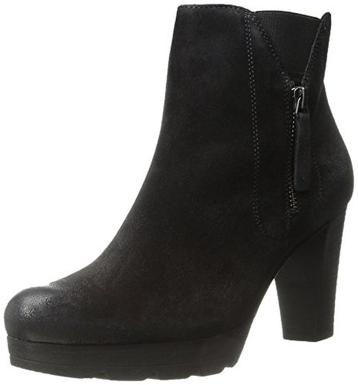 Paul Green Dashing Damen US Schwarz Mode-Stiefeletten - Stiefel für frauen  (*Partner-Link)