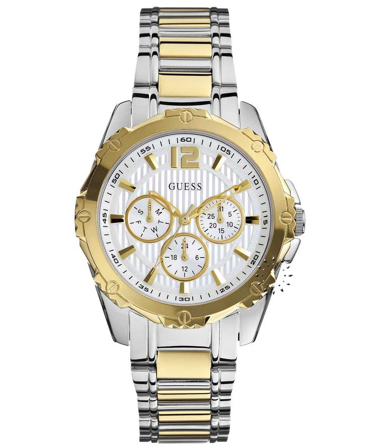 GUESS Two Tone Stainless Steel Bracelet Η τιμή μας: 186€ http://www.oroloi.gr/product_info.php?products_id=36303