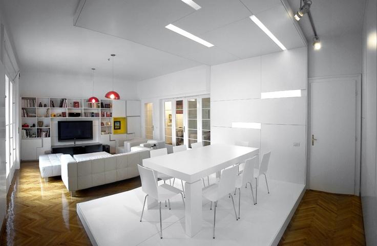 Parasite Studio: White #Apartment