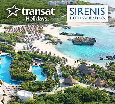 WIN a 5-star all-inclusive vacation with itravel2000 - Make Your Riviera Maya Dream Come True...Share and increase your chances of winning - Enter Now!