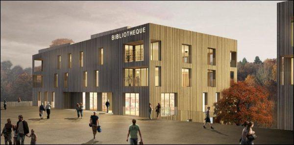 La Municipalité de Lausanne propose deux préavis prévoyant la construction à la Sallaz et aux Fiches Nord de 159 logements à loyers abordables, d'une bibliothèque et d'une garderie.