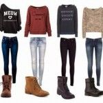 Pinned onto Teen OutfitsBoard in girls outfits Category