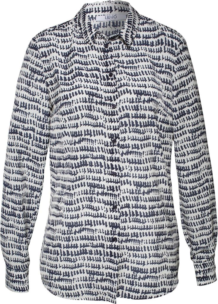 Chiffonbluse von Liu Jo Jeans @ ABOUT YOU http://www.aboutyou.de/p/liu-jo-jeans/chiffonbluse-mit-two-tone-print-1965487?utm_source=pinterest&utm_medium=social&utm_term=AY-Pin&utm_content=Streetstyle-Sporty-Cool&utm_campaign=2015-05-KW-19