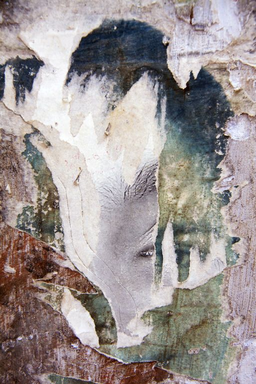 Saatchi Online Artist: Ian Hoskin; Digital, 2013, Photography Face_3397.jpg From the series Defaced