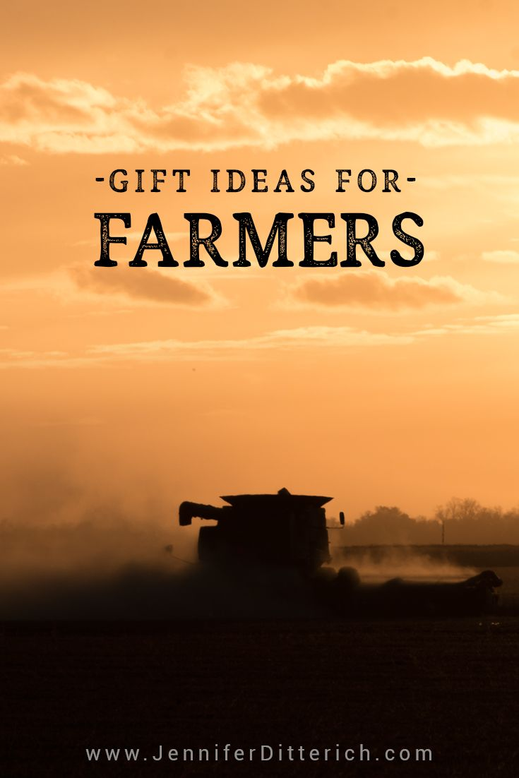 thoughtful gift ideas for farmers to show you appreciate their hard