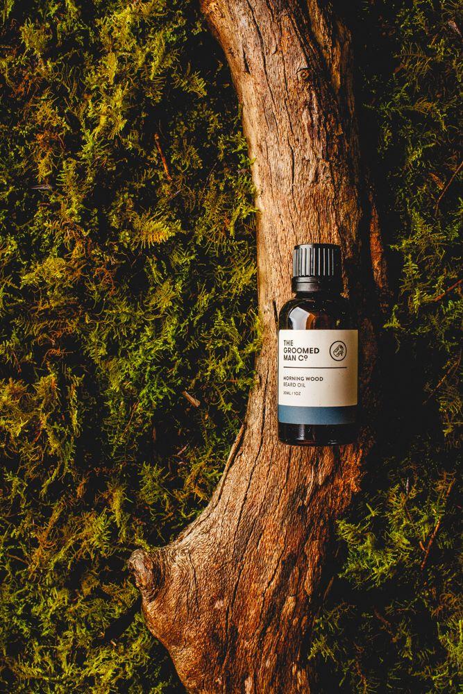 Morning Wood Beard Oil. Our new packaging for The Groomed Man Co. Beard Oil! Pin it if you like it! By @glockenpop   www.thegroomedmanco.com  #beard #beardoil #australia #thegroomedmanco