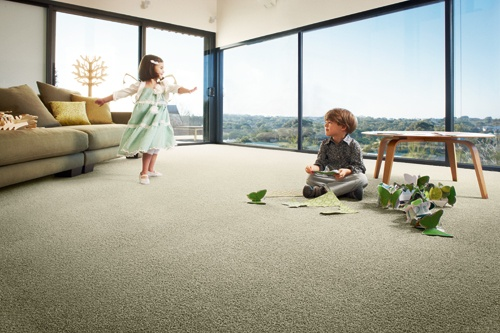 Feltex carpets | Redbookgreen® | UltraSoft™ carpet, made from 37% corn sugar.  Super soft carpet for kids to play on! #feltexcarpets #feltex