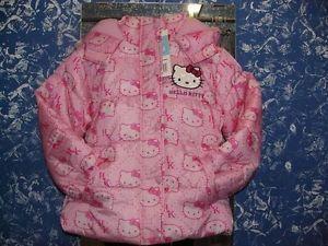 Giubbino giubbotto interno pile bambina Hello Kitty 6 anni idea regalo Sanrio | eBay