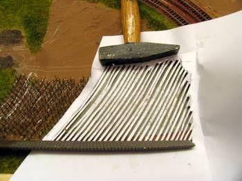 Landschaftsgestaltung - Felder für die Modellbahn Spur N
