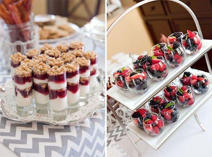 Bridal Shower Food Ideas Display