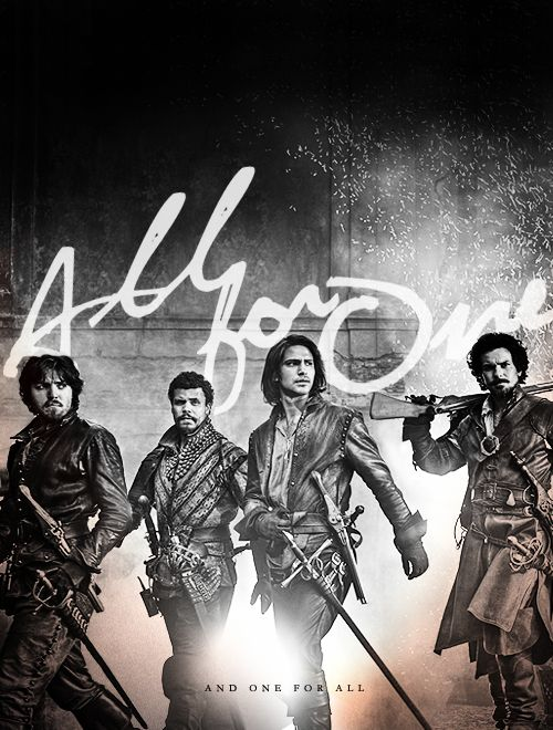 The Musketeers | All for one, and one for all