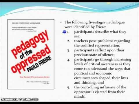 Human Rights: Friere's Pedagogy of the Oppressed, Part 1 - YouTube