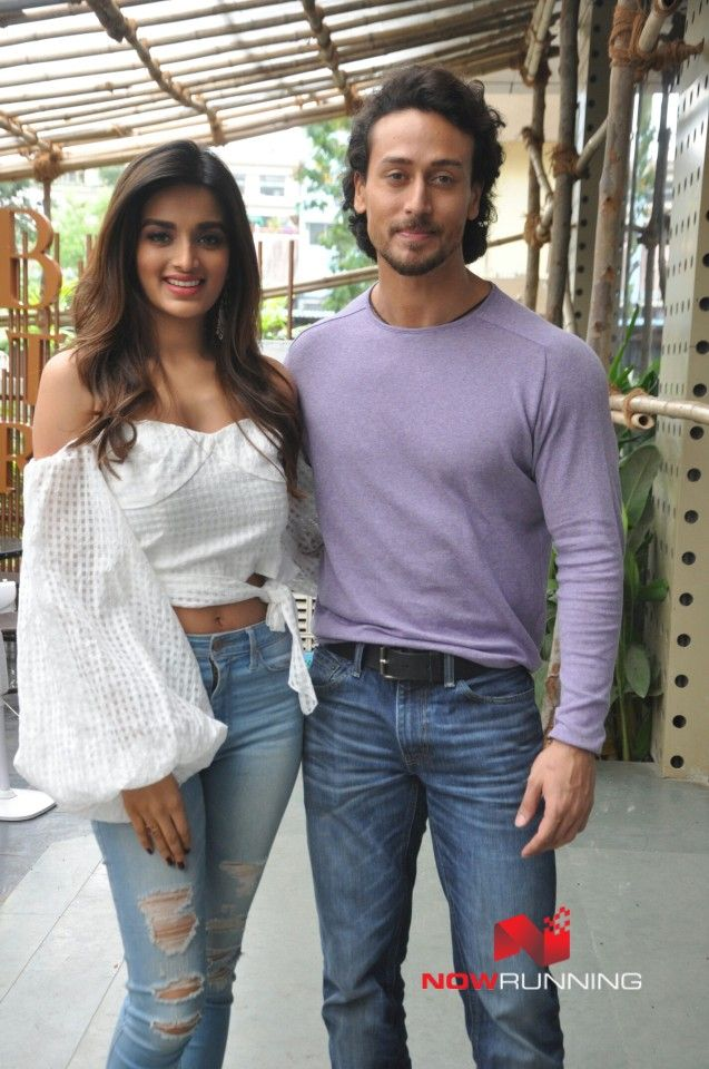 Tiger Shroff and Nidhhi Agerwal snapped at 'Munna Michael' promotions