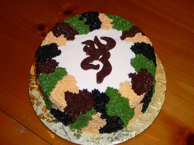 browning+camo+cake | Browning Camo — Groom's Cakes
