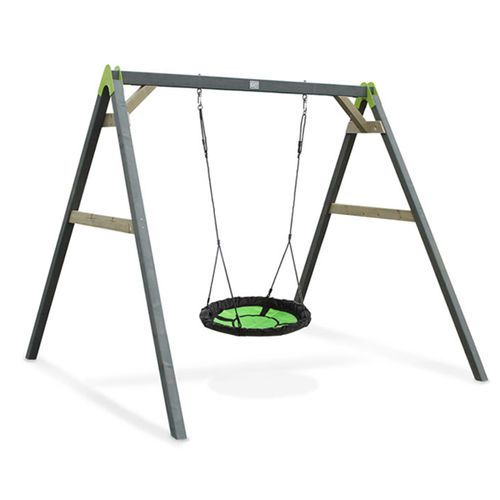 Hämähäkki tyylinen pyöreä keinu lapsille Exit Aksent
