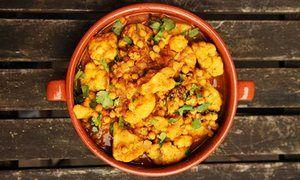 Angela Hartnett's chick pea and cauliflower curry
