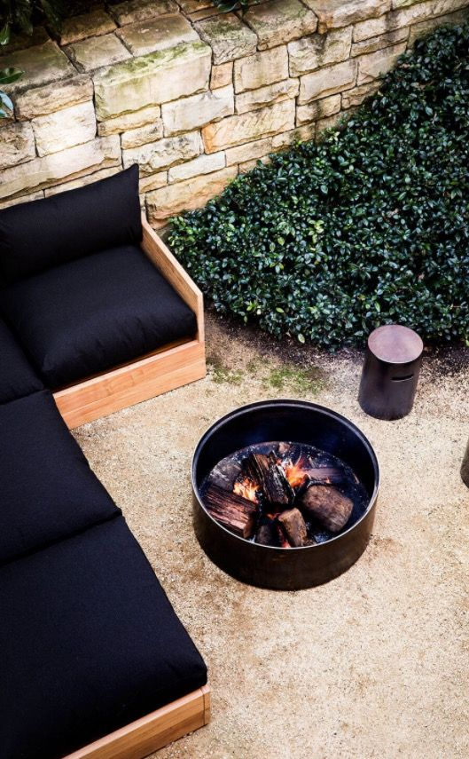 Molly ( Mel ) Drum Fire Pit by Robert Plumb