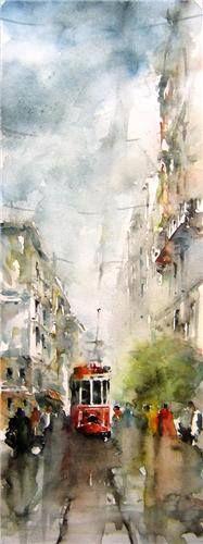 Işıl Özışık , watercolor artist