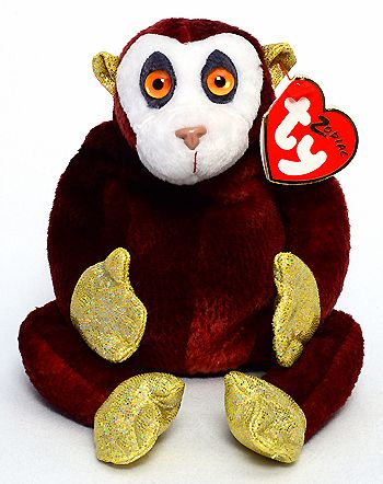 Monkey (Zodiac) - Ty Beanie Babies