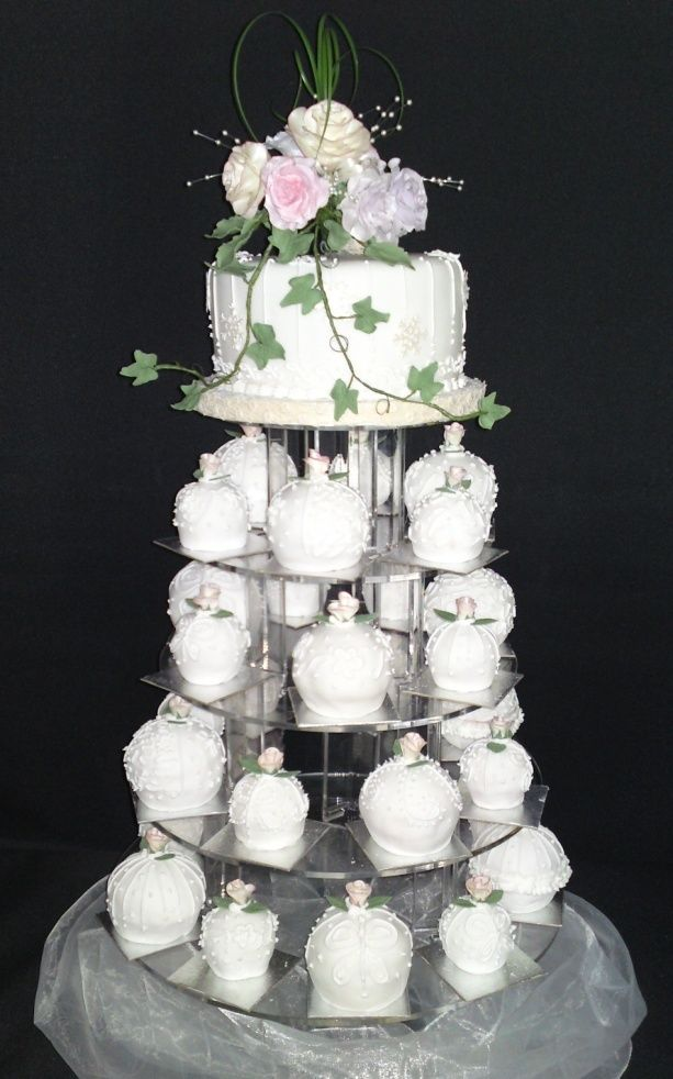Bauble Mini Wedding Cakes For Something Different Your And An Individual Present To Each