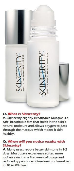 What is skincerity? By NuCerity! It's new & shipped Directly from Australia to you!