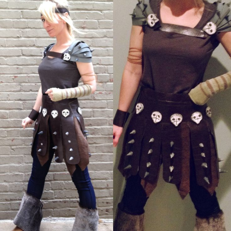 Astrid Costume. How To Train Your Dragon! Astrid Tutorial.