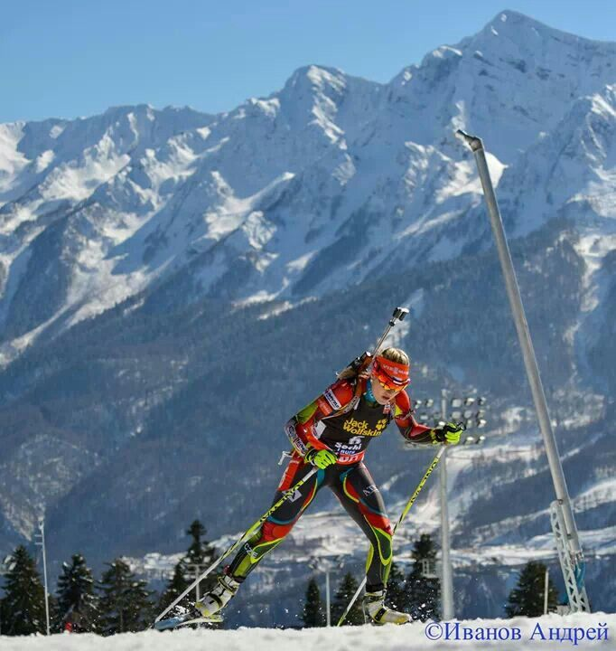 2014 Winter Olympics.  The mountains of Sochi are so beautiful.