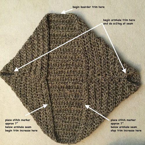 Juno Chunky Shrug Free Crochet Pattern — Stitch & Hustle