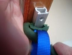 Kinleven Marine clip-on sail slide and tool 1