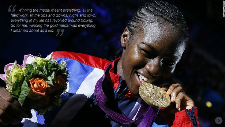 Nicola  Adams London 2012 .first female  boxer to win gold medal